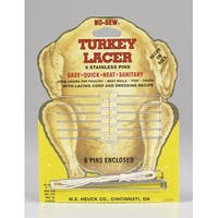 HIC 835 Stainless Steel Turkey Lacer