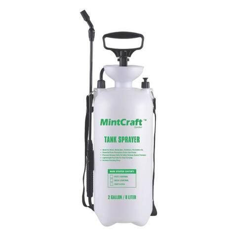 Mintcraft SX-8B Poly Compression Tank Sprayer, 2 Gallon