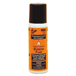 Wall Lenk Corp 1.5Oz Butane Fuel LBF-15 Unit: EACH Contains 12 per case