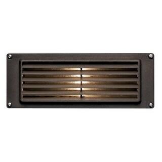 Hinkley Lighting H1594 12v 12w Die-Cast Aluminum Louvered Brick / Step Light