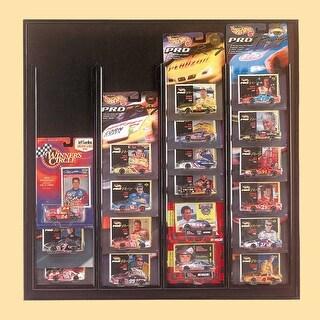 Car Miniatures Car Display Black for Race Champ