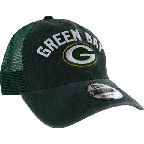 Green Bay Packers 9TWENTY Rugged Stack Adjustable Hat
