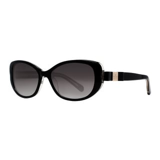 KATE SPADE Butterfly CHANDRA/S Women's X84 Y7 Black Black Sunglasses - 53mm-17mm-135mm
