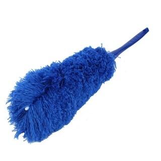 Home Household Plastic Nonslip Handle Sweeping Duster Cleaner Brush Blue