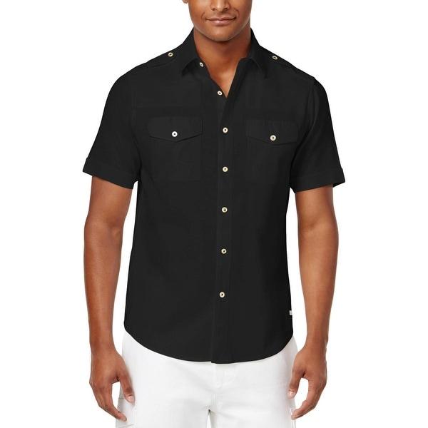Sean John Mens Lightweight Shirt
