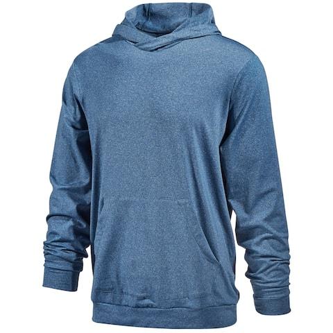 Ideology Mens Performance Hoodie Sweatshirt, Blue, XXX-Large
