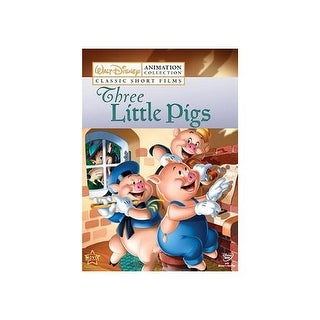 DISNEY ANIMATION COLLECTION-V02-THREE LITTLE PIGS (DVD/FF 1.33/2.0/SP-FR-SU