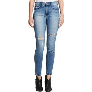 Current/Elliott Womens Ankle Jeans Light Wash High Waist - 26