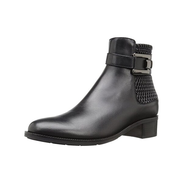 Aquatalia Womens Odette Casual Boots Ankle Buckle - 6.5 medium (b,m)