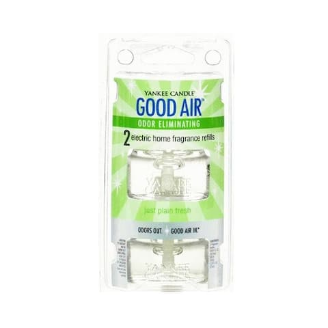 Yankee Candle 1200545 Good Air Electric Home Fragrance Refill, Cool Morning Dew