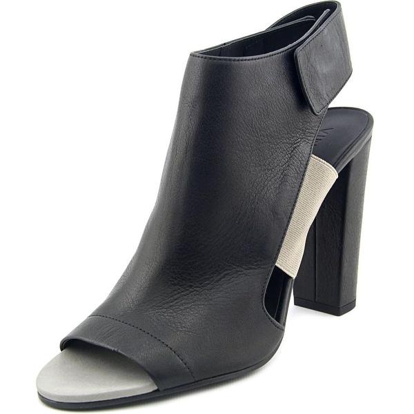 Vince Anetta Women Open-Toe Leather Slingback Heel