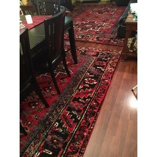 Safavieh Vintage Hamadan Jasmin Traditional Red/ Multi Rug - 8' x 10'