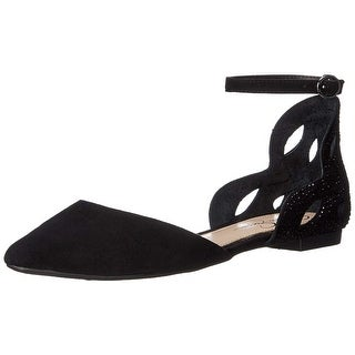 Jessica Simpson Womens Zabala Pointed Toe Ankle Strap