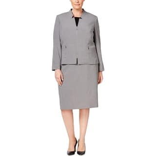 Tahari Womens Plus Skirt Suit Zip Front Long Sleeve - 22W https://ak1.ostkcdn.com/images/products/is/images/direct/ff8762bf3bcd25b2f05bac561ca5f94b7b083a79/Tahari-Womens-Plus-Skirt-Suit-Zip-Front-Long-Sleeve.jpg?impolicy=medium