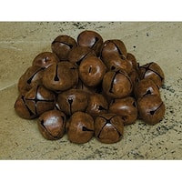 48/Pkg, Rusty Jingle Bells, 20mm