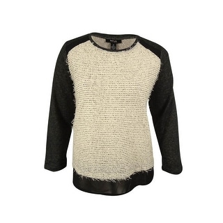 Style & Co. Women's Eyelash Pullover Sweater (Option: 3x)