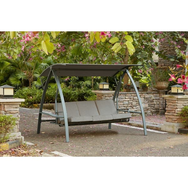 Bestliving 3 Seat Daybed Swing With Stand Overstock 30899219