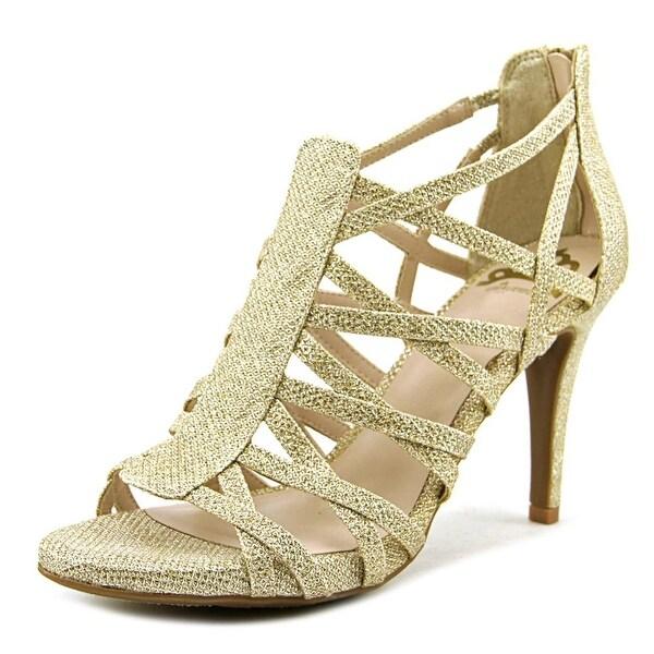 Fergalicious Hattie Women Gold Sandals
