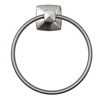 Design House 580829 Satin Nickel Perth Towel Ring