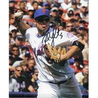 Signed Wright David New York Mets 8x10 Photo autographed