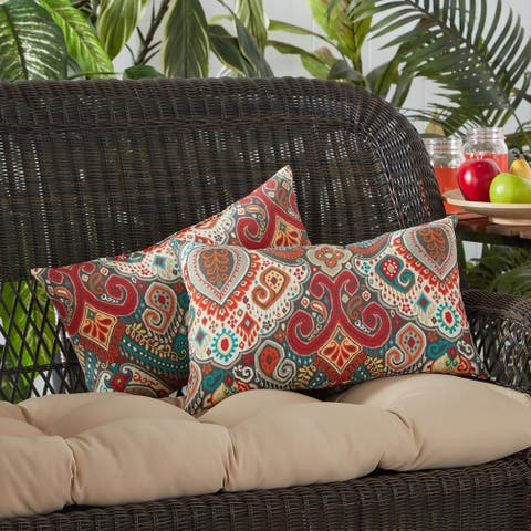 Greendale Global Outdoor Accent Pillow (Set of 2) - 19 W x 12 H