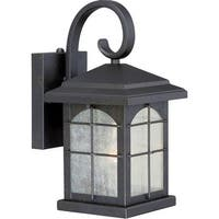 "Vaxcel Lighting T0073 Bembridge 1-Light Outdoor Wall Sconce - 8.5"" Wide - gold stone - n/a"