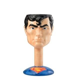 DC Comics Ceramic Molded Goblet: Superman