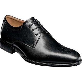 Florsheim Men's Amelio Perf Toe Oxford Black Leather