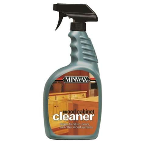 Minwax 521270004 Wood Cleaner Spray, 32 Oz