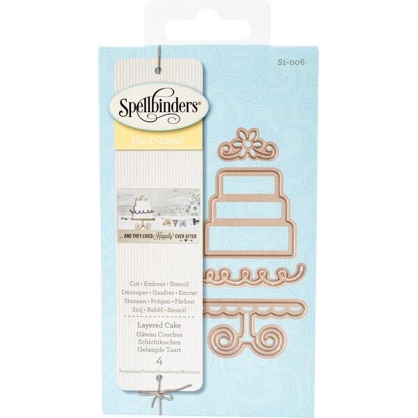 Spellbinders Shapeabilities Die D-Lites-Layered Cake