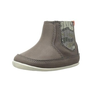 Carters Boys Connor Chelsea Boots Faux Leather Camouflage