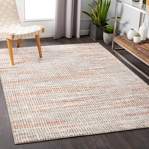 Milly Contemporary Stripe Area Rug