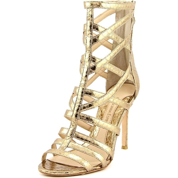 Carolinna Espinosa Sari2 Women Open Toe Canvas Gladiator Sandal
