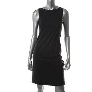 Theory Womens Betty Wool Sleeveless Wear to Work Dress - 6