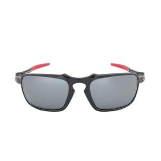 Shop Oakley Badman Polarized Ferrari Edition Sunglasses OO6020-07 ... 1617c96ab0