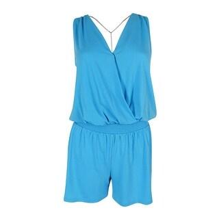 MICHAEL Michael Kors Women's Sleeveless Jersey Romper