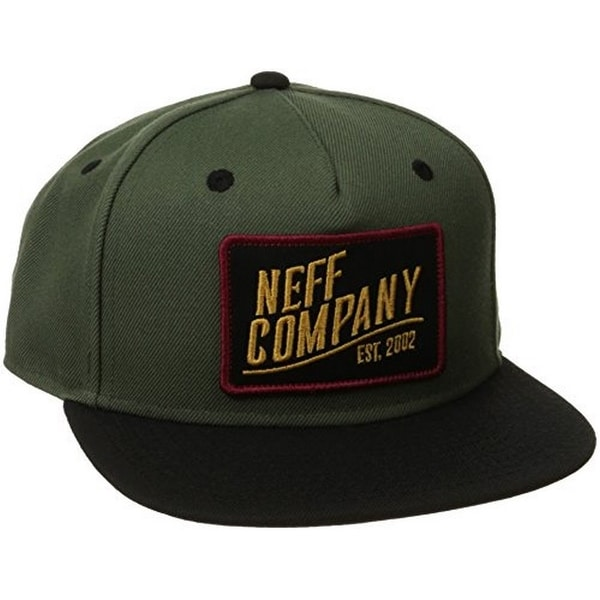 9460ff8c Shop Neff Mens STATION 2 CAP, BLACK/BLACK, OS - Free Shipping On Orders  Over $45 - Overstock - 17872262