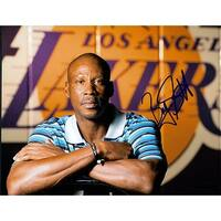Signed Scott Byron Los Angeles Lakers 8x10 Photo autographed