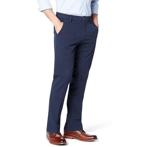Dockers Men's Slim Fit Khaki Smart 360 Flex Pants, Pembroke (Stretch),31W x 34L