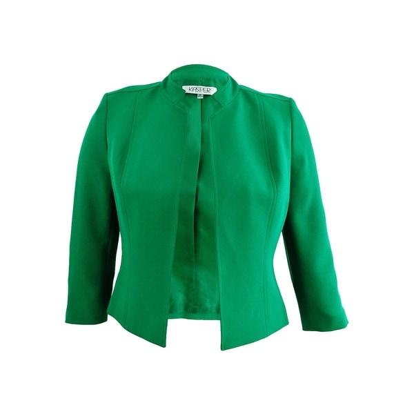 78126b7a6b840 Kasper Women's Stand-Collar Jacket (10, Amazon) - Amazon - 10