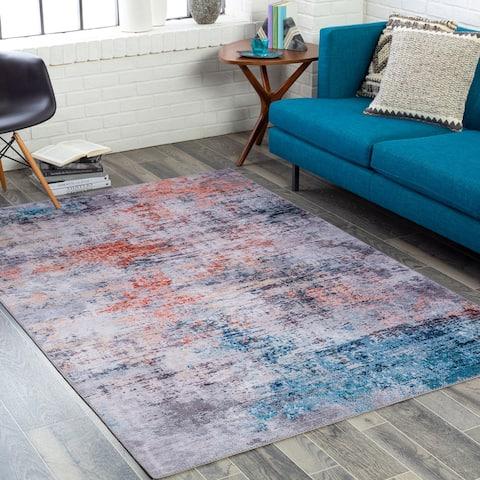 Masruk Abstract Modern Area Rug
