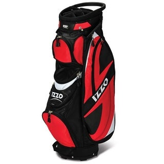 IZZO Breeze Deluxe Ultra Light Push Cart Golf Bag