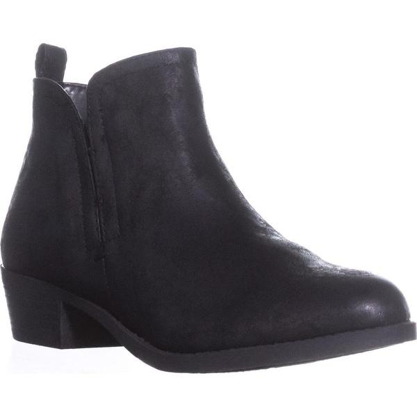 Carlos by Carlos Santana Boe Ankle Boots, Black