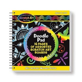 Melissa & Doug LCI5947BN Activity Books Doodle Pad - Pack of 4