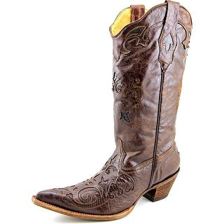 Corral C2019 Women W Pointed Toe Leather Brown Western