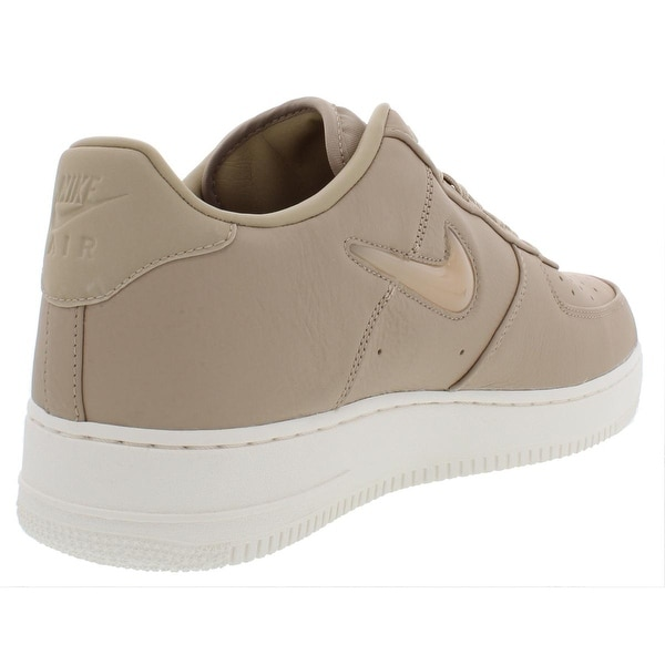 Nike Mens Air Force 1 Retro Premium Leather Signature Fashion Sneakers