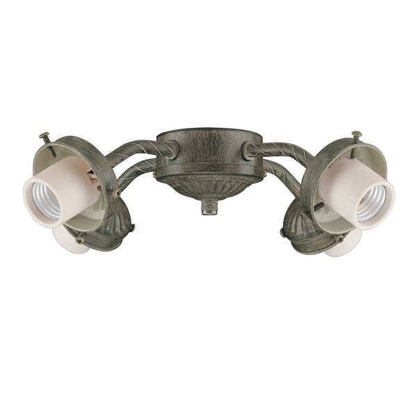 Concord Y-401CG 4-Light 240 Watt Light Kit with 60 Watt Intermediate Base Bulbs