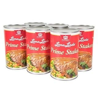 Loma Linda - Vegetarian - Prime Stakes (47 oz.) (Pack of 6) - Kosher
