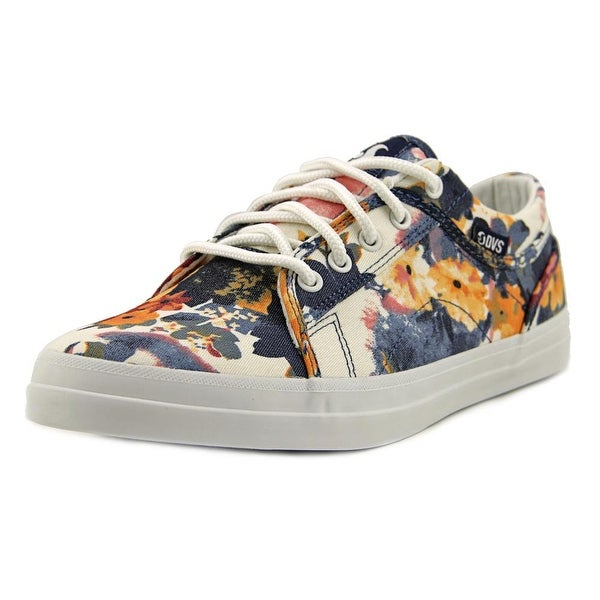 DVS Aversa Round Toe Canvas Skate Shoe