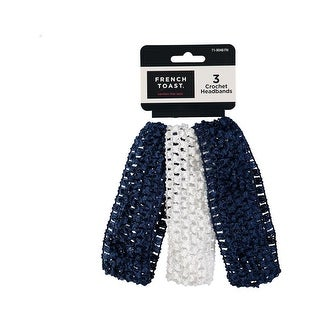 French Toast Girls 3-Pack Crochet Headbands